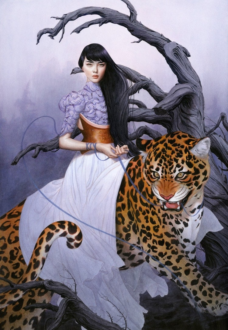 fairytale colored pencil drawings tran nguyen 22