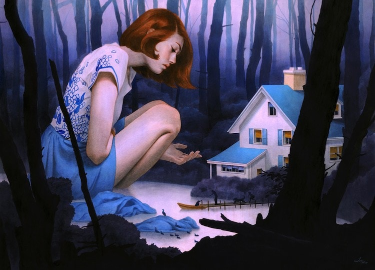 fairytale colored pencil drawings tran nguyen 25