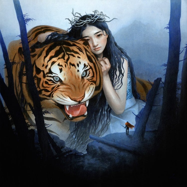 fairytale colored pencil drawings tran nguyen 27
