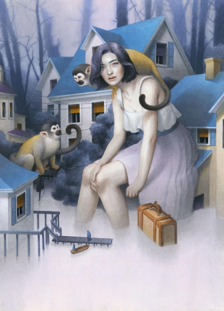 fairytale colored pencil drawings tran nguyen 3