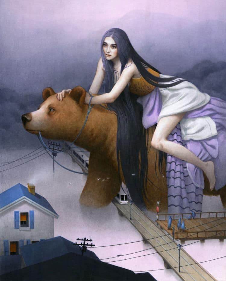 fairytale colored pencil drawings tran nguyen 4