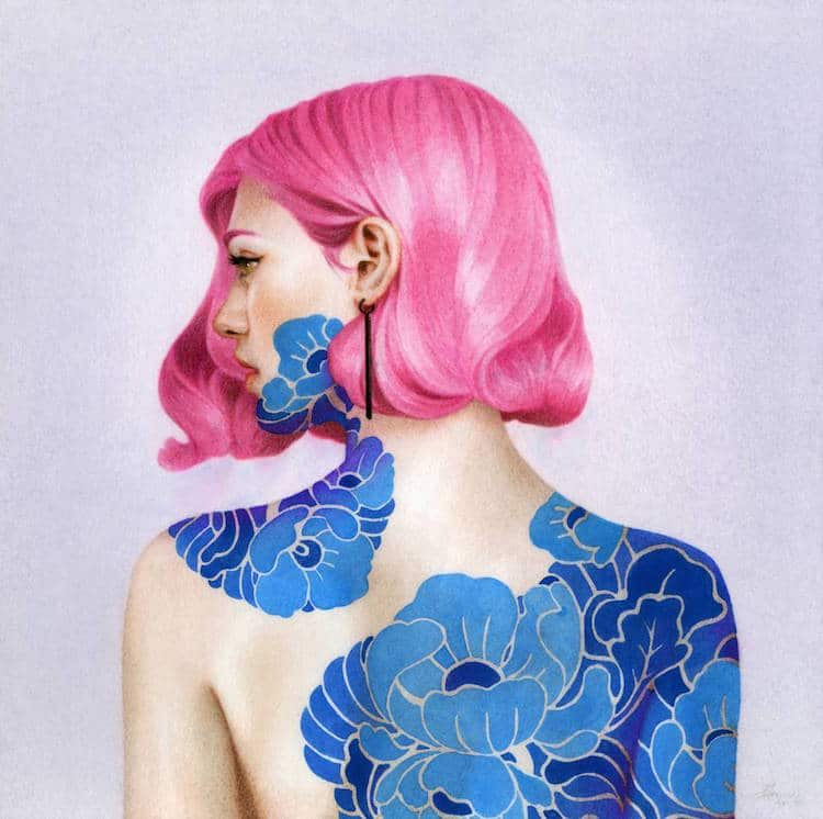 fairytale colored pencil drawings tran nguyen 5