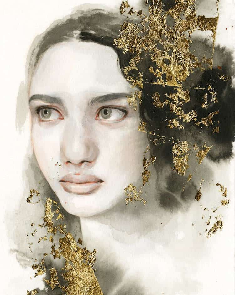 fairytale colored pencil drawings tran nguyen 9