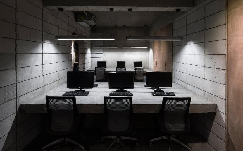 infinite nide bamboo concrete office changsha 10