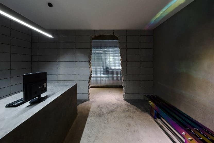 infinite nide bamboo concrete office changsha 11