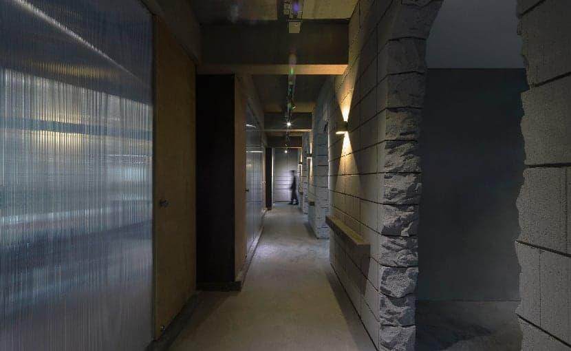 infinite nide bamboo concrete office changsha 6