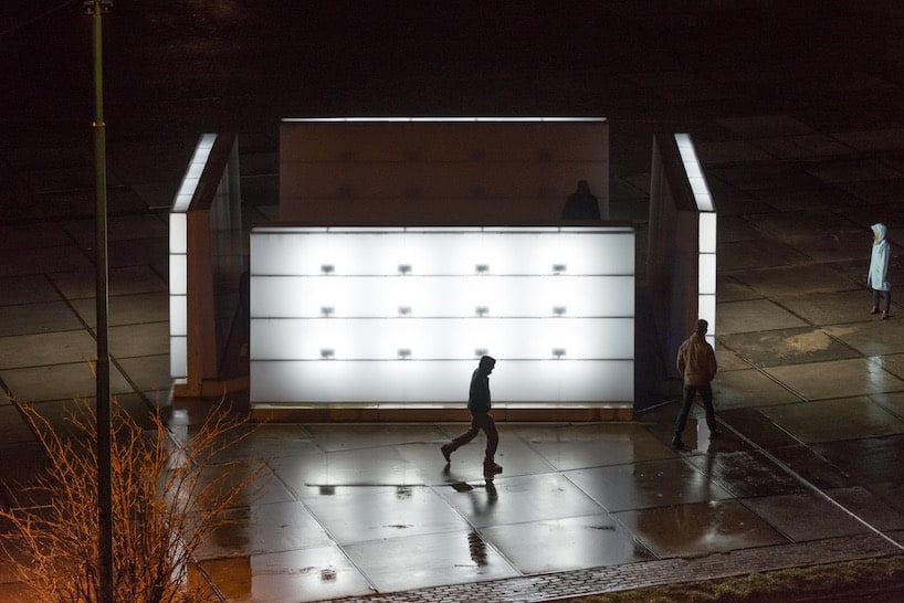 light installation polylester amsterdam ndsm wharf 4