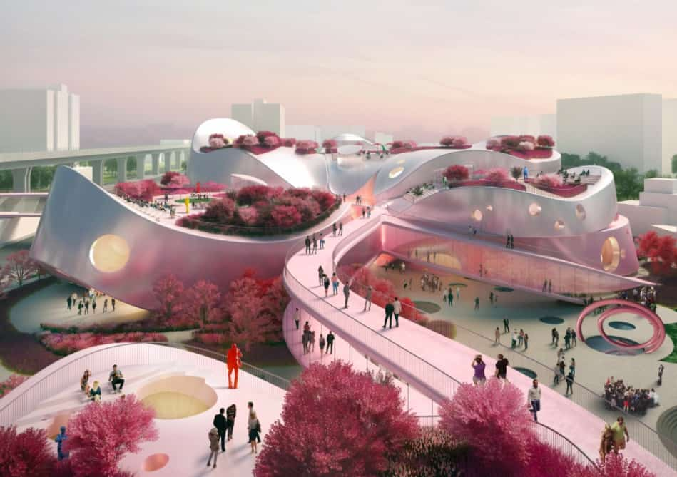 mvrdv proposal taoyuan museum of art 1
