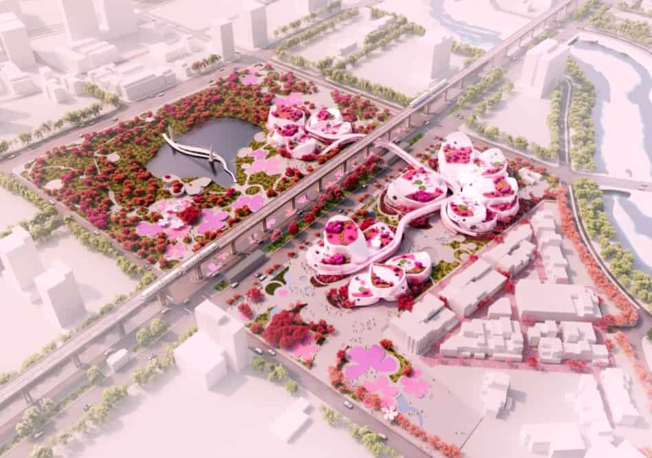 mvrdv proposal taoyuan museum of art 5