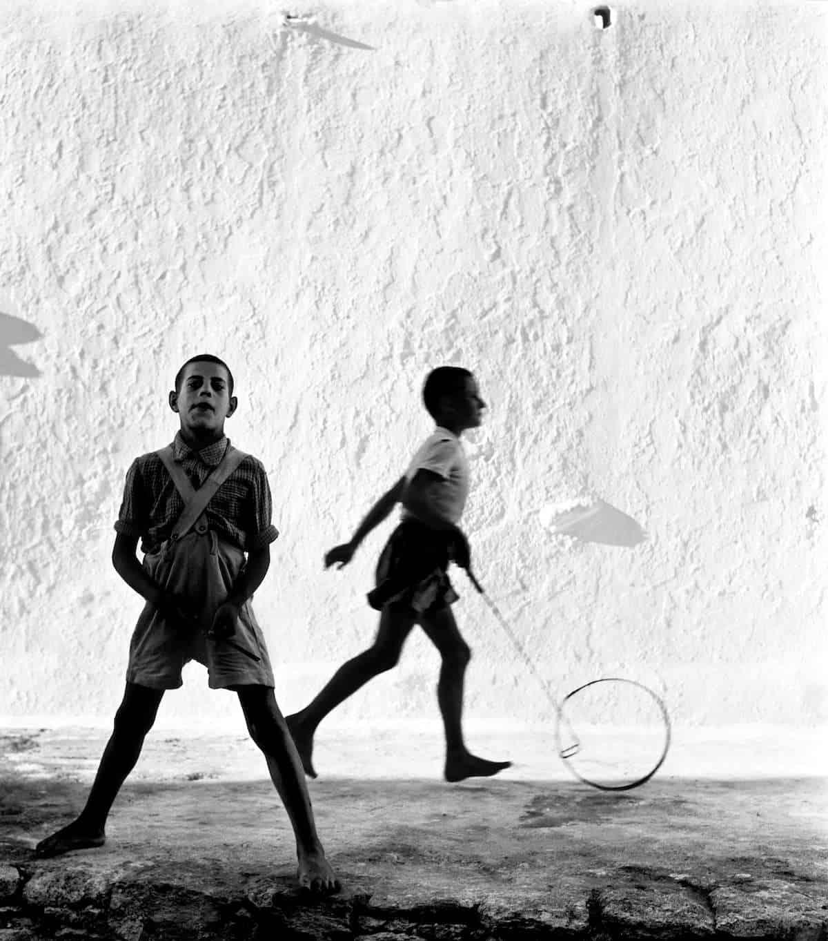 Mykonos, Greece, 1957.