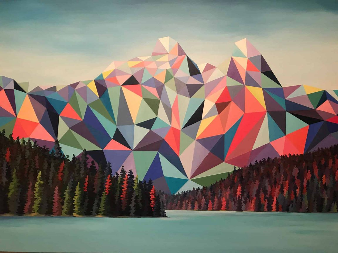 polygon art landscape elyse dodge 1