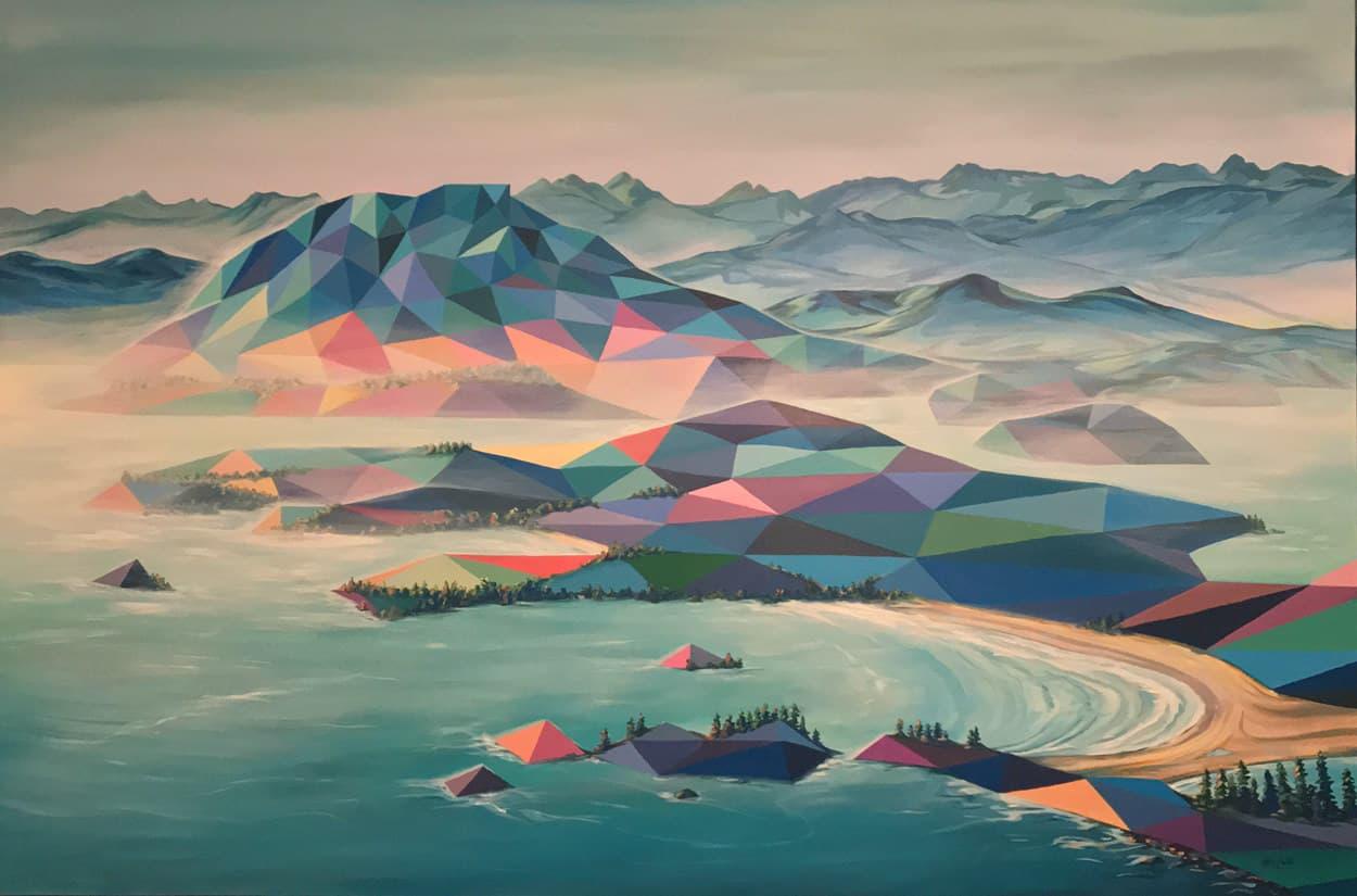 polygon art landscape elyse dodge 15