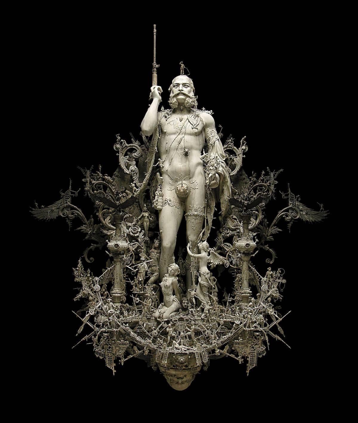 kris kuksi assemblage sculpture 2