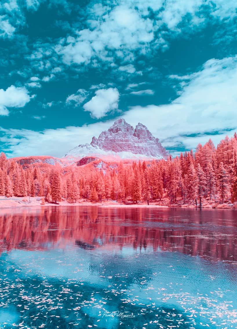 paolo pettigiani infrared dolomites 1