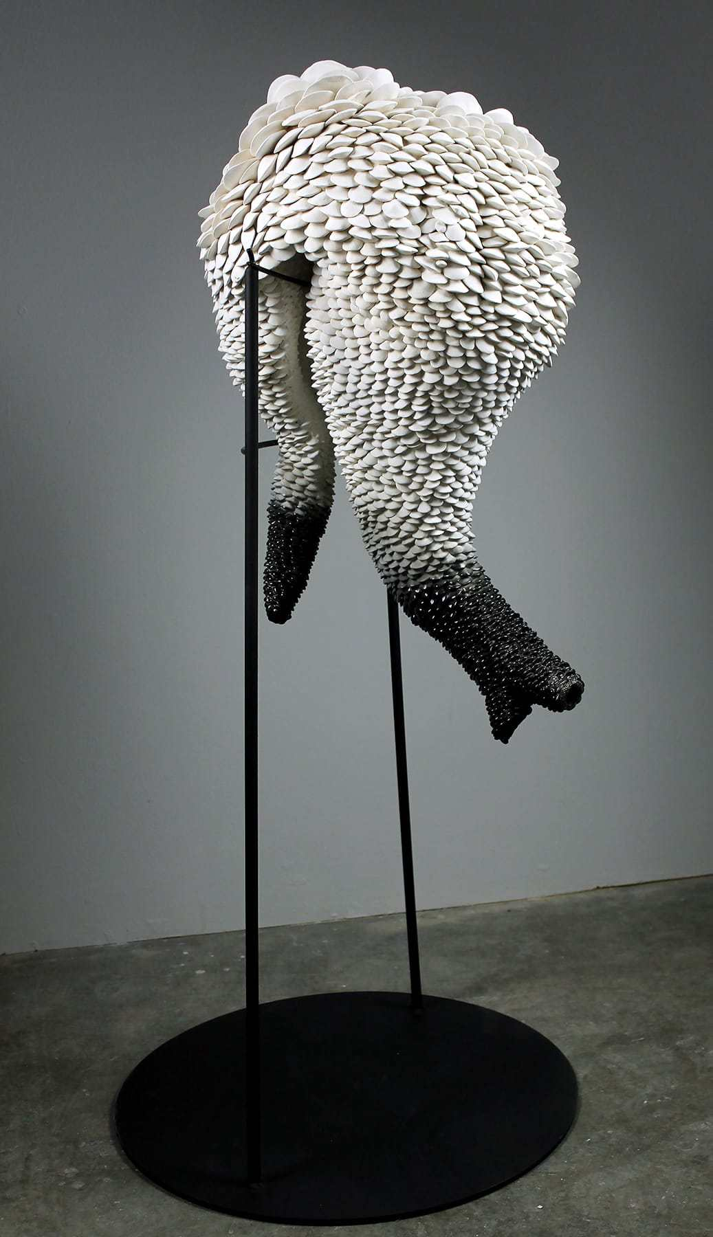 sara catapanos biomorphic ceramic sculptures 1