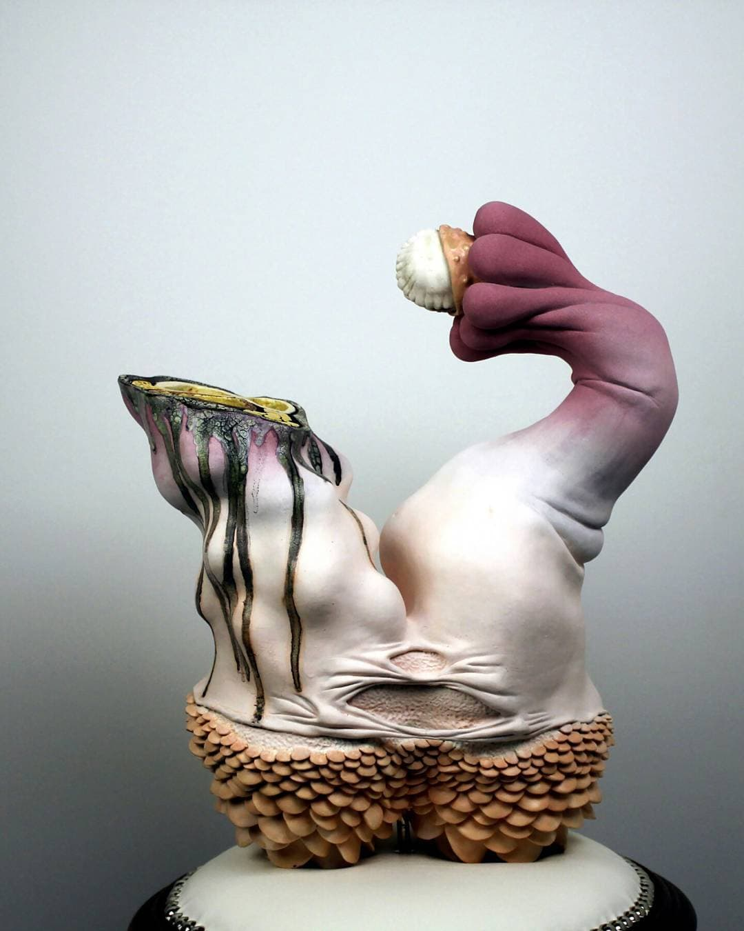 sara catapanos biomorphic ceramic sculptures 2