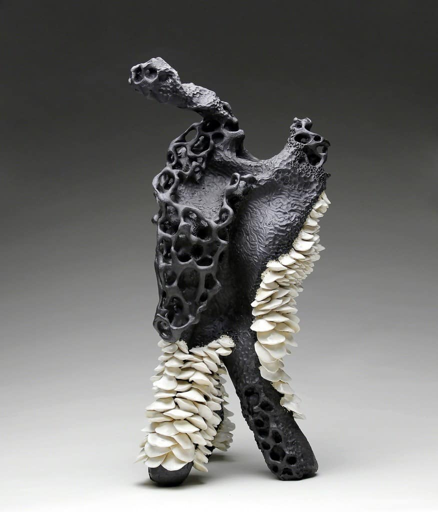 sara catapanos biomorphic ceramic sculptures 6
