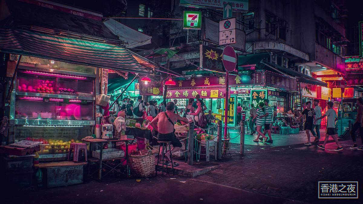 zaki abdelmonium neon photography 1