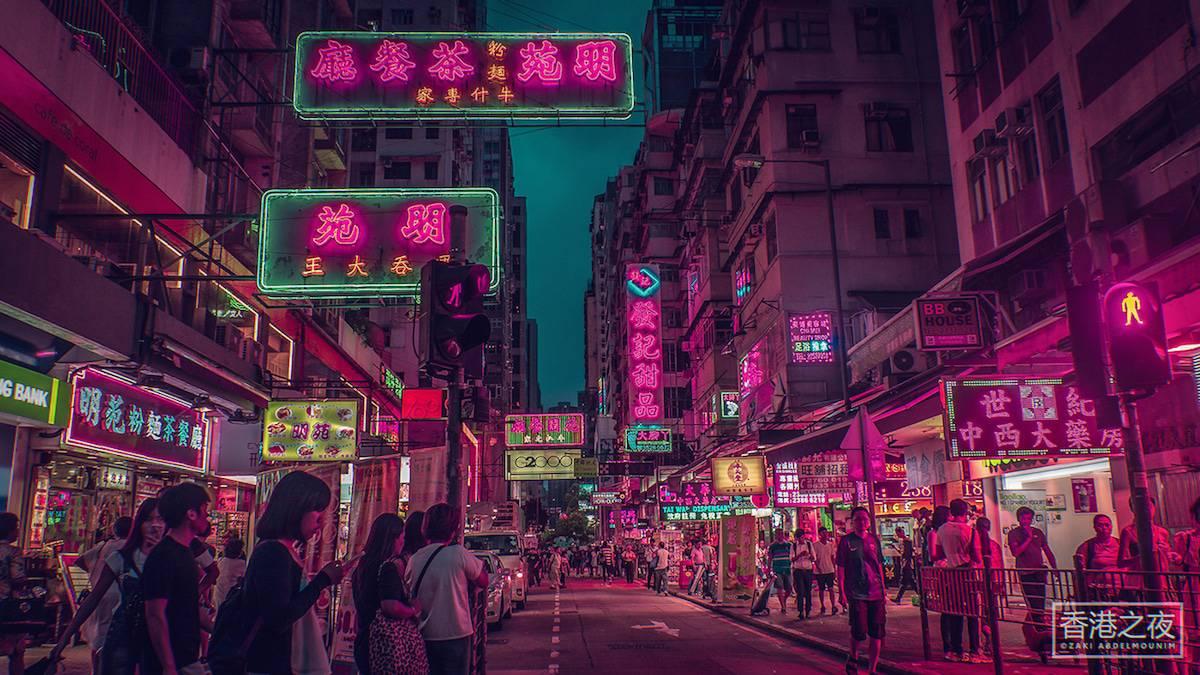 zaki abdelmonium neon photography 11