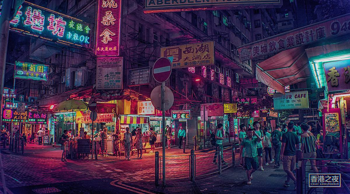 zaki abdelmonium neon photography 14