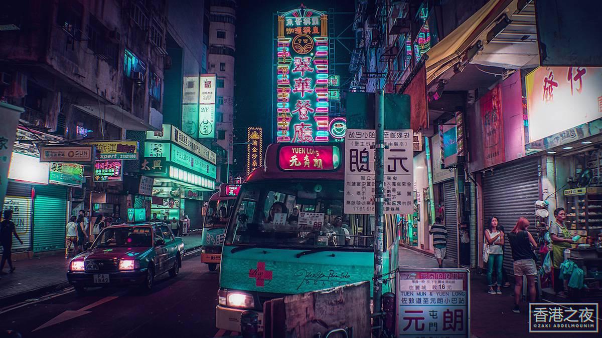 zaki abdelmonium neon photography 15
