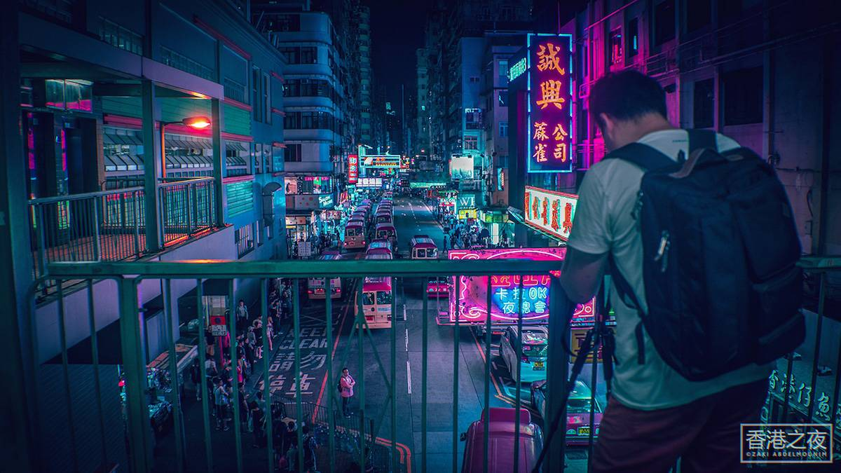 zaki abdelmonium neon photography 16