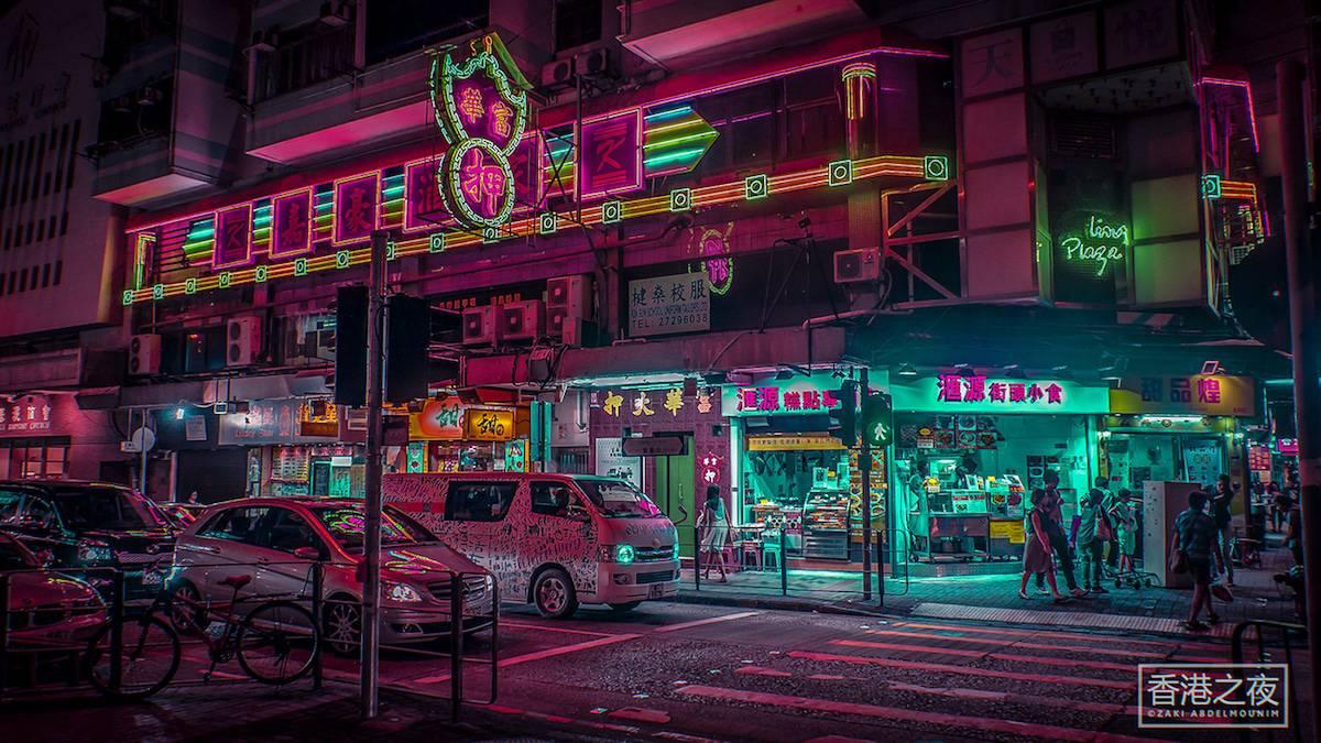 zaki abdelmonium neon photography 3