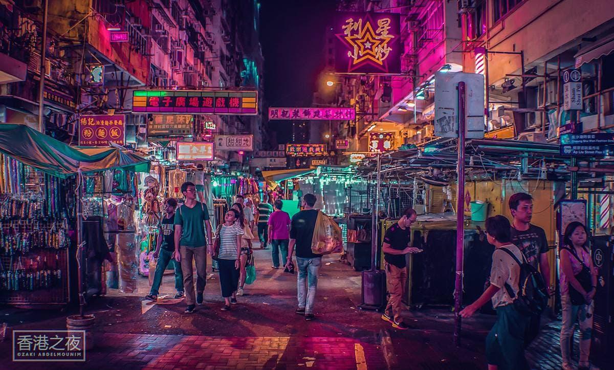zaki abdelmonium neon photography 4