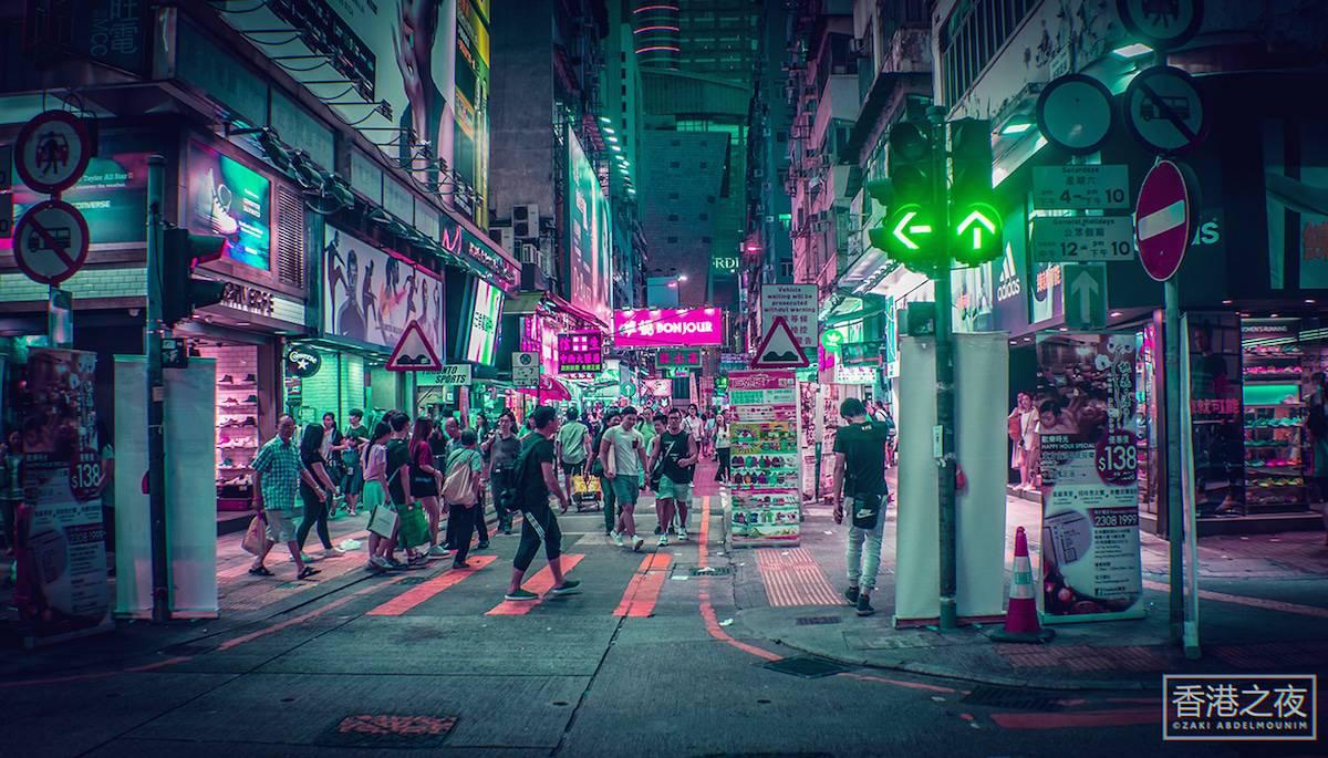 zaki abdelmonium neon photography 7