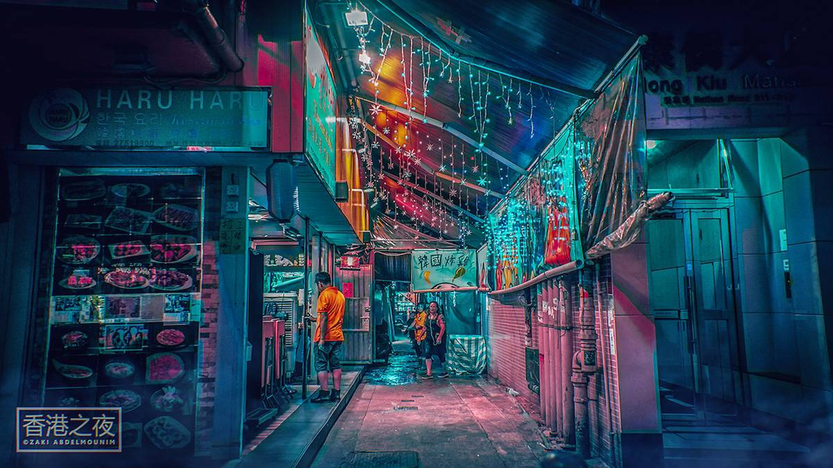 zaki abdelmonium neon photography 8