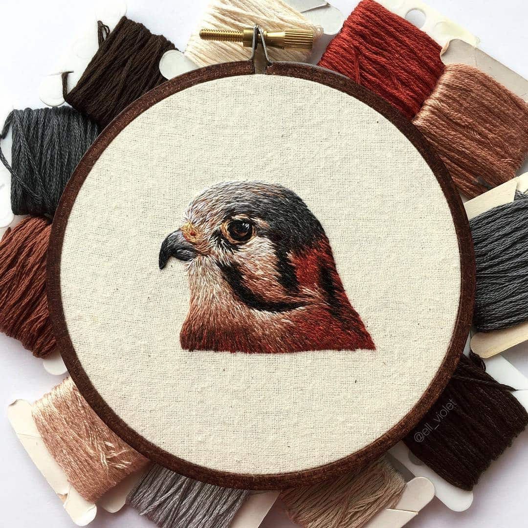 bird embroidery ell violet 3