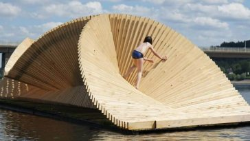 daewha kang design circe floating pavilion 1