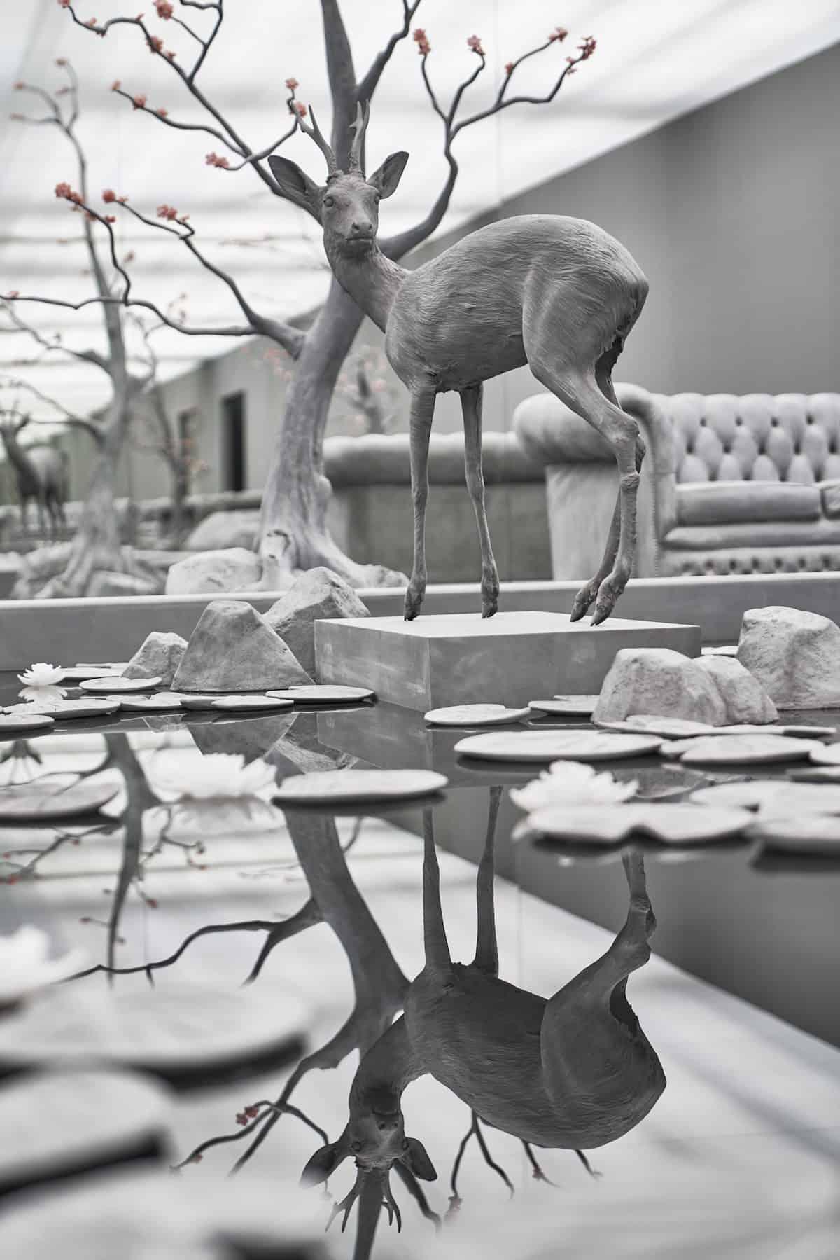 hans op de beeck sculpture 4