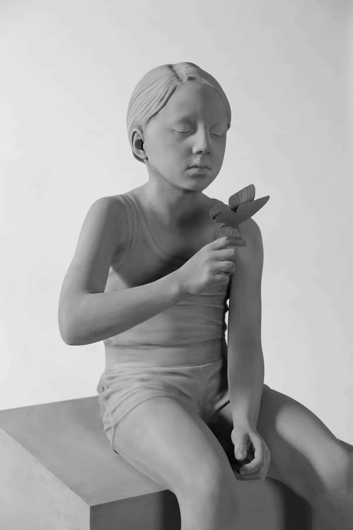 hans op de beeck sculpture 8