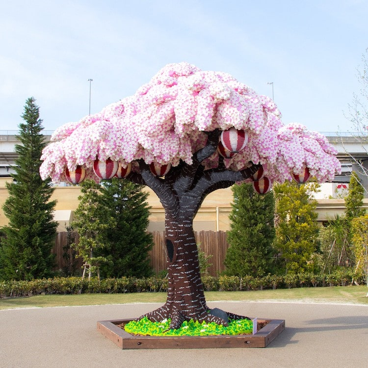 lego cherry blossom tree japan 1