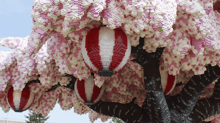 lego cherry blossom tree japan 7