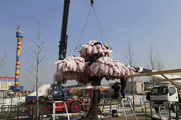 lego cherry blossom tree japan 8