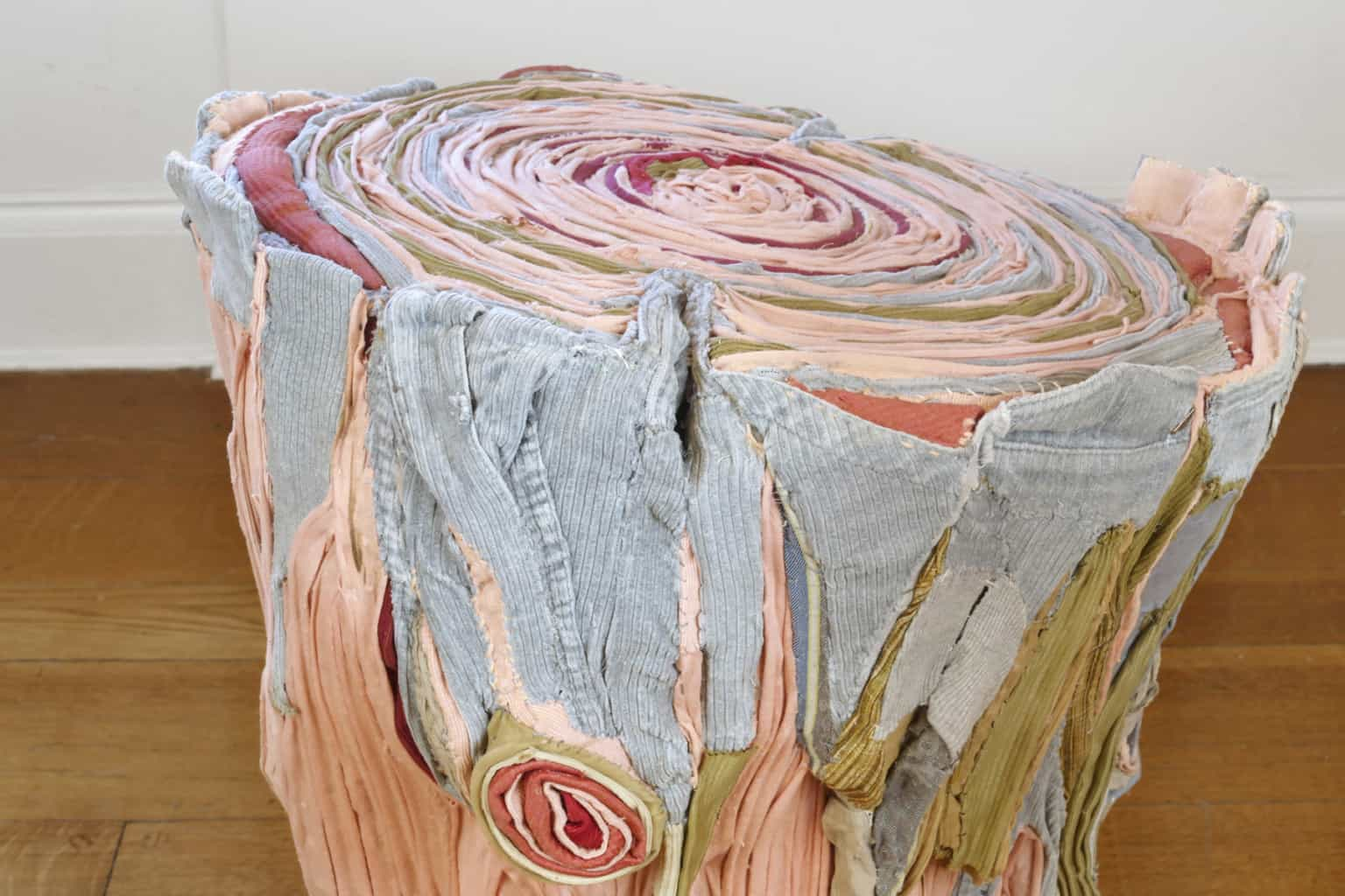 fabric tree stumps tamara kostianovsky 6
