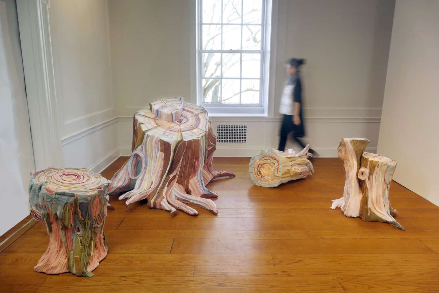 fabric tree stumps tamara kostianovsky 7