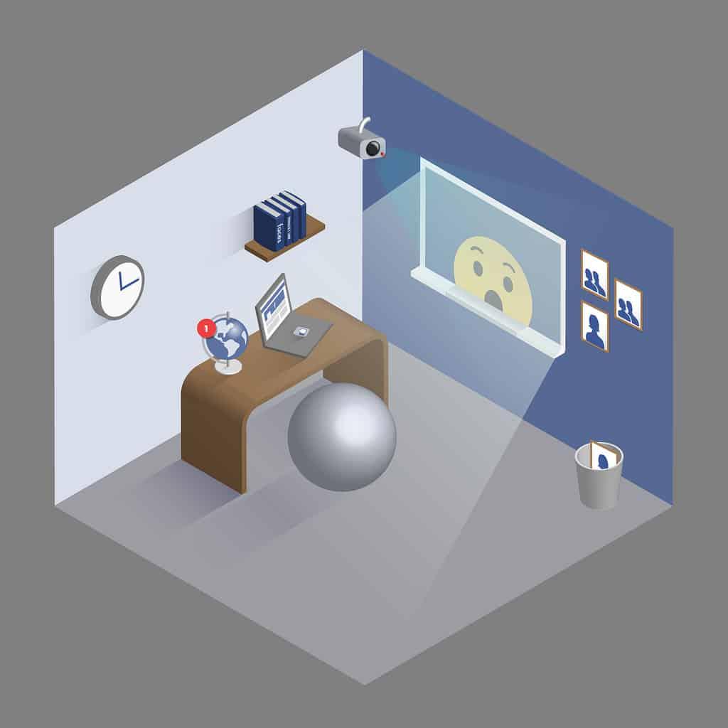 Facebook-designed home office