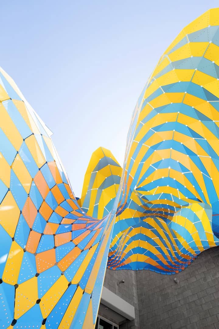 marquise colourful pavilion marc fornes 12