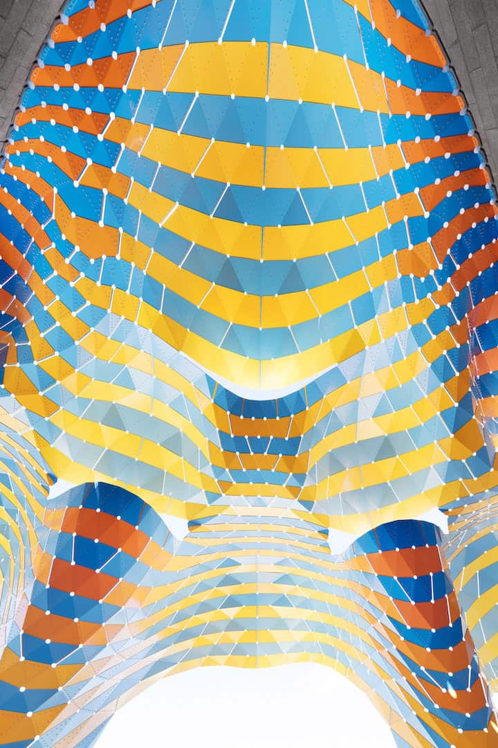 marquise colourful pavilion marc fornes 14