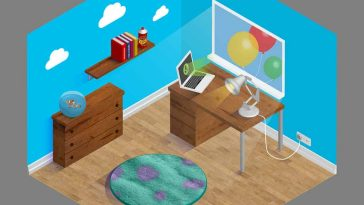 pixar home office 1