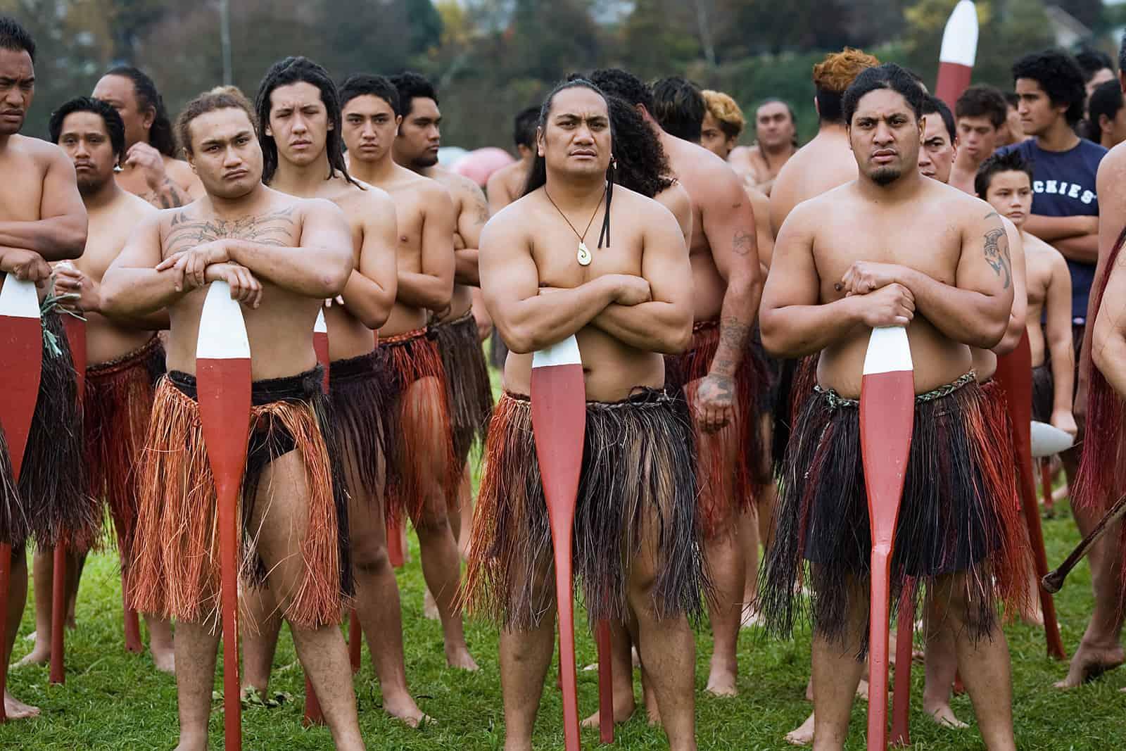Naked island people