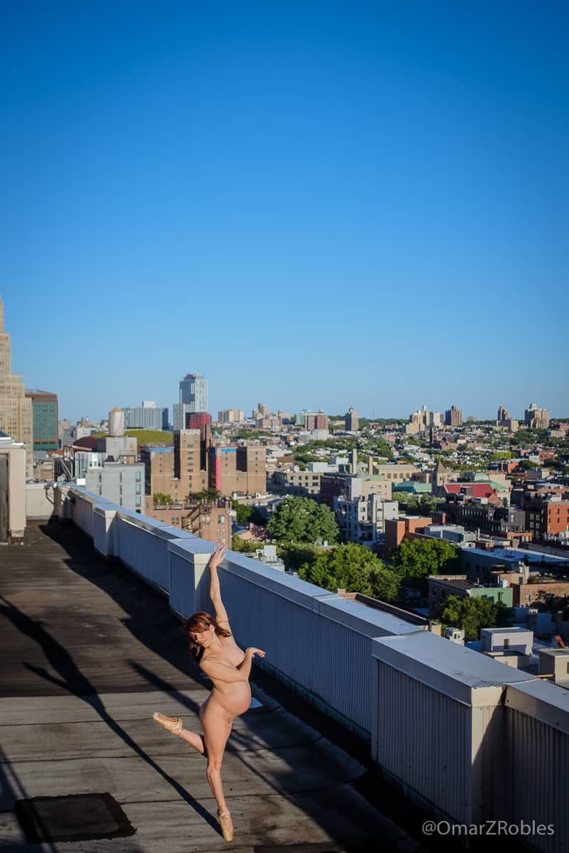 Omar Robles bare sky dance series 1