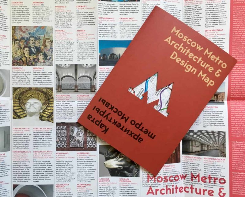 moscow metro architecture design map