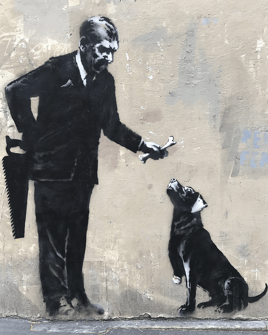 paris 2018 banksy 1