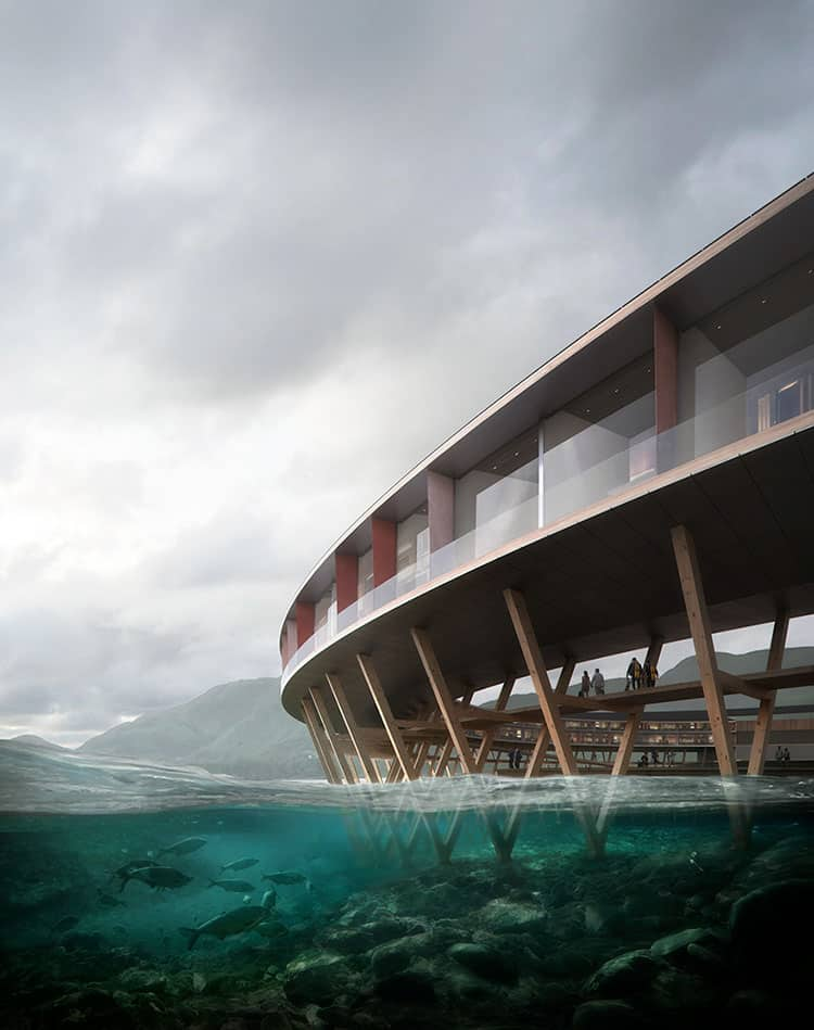 norway sustainable svart hotel snohetta 2