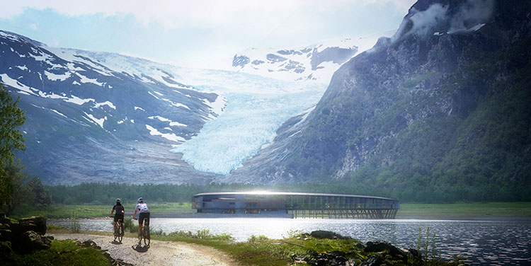 norway sustainable svart hotel snohetta 6