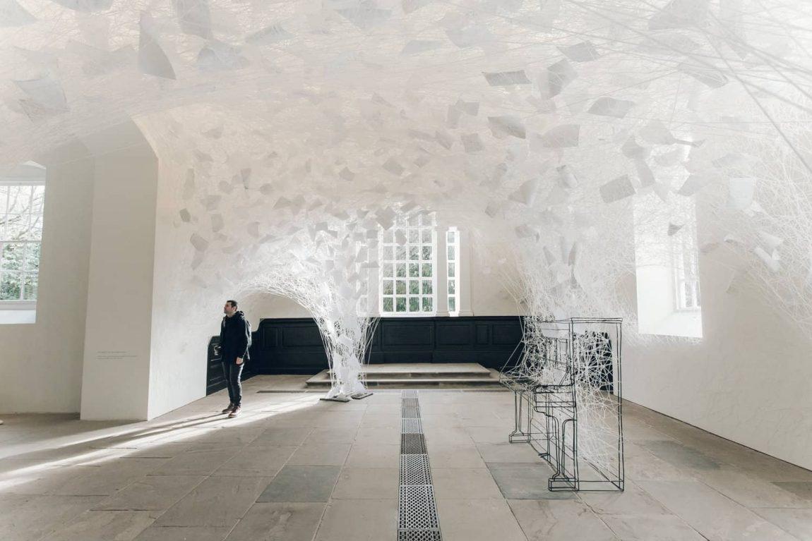 Chiharu Shiota Beyond Time Exhibition